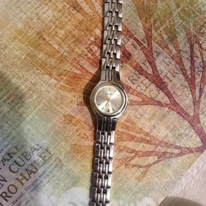 Vintage Two Tone Fossil Women's Watch